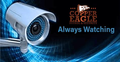 Top in Surveillance, Top in Patrol   Copper Eagle Patrol & Security