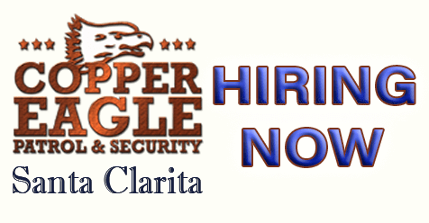 Immediately Hiring – Swing and Graveyard | Copper Eagle Patrol & Security