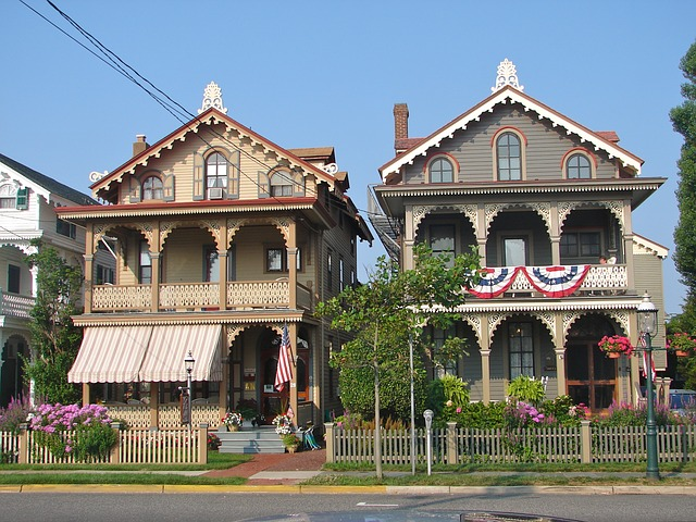 Two houses in New Jersey