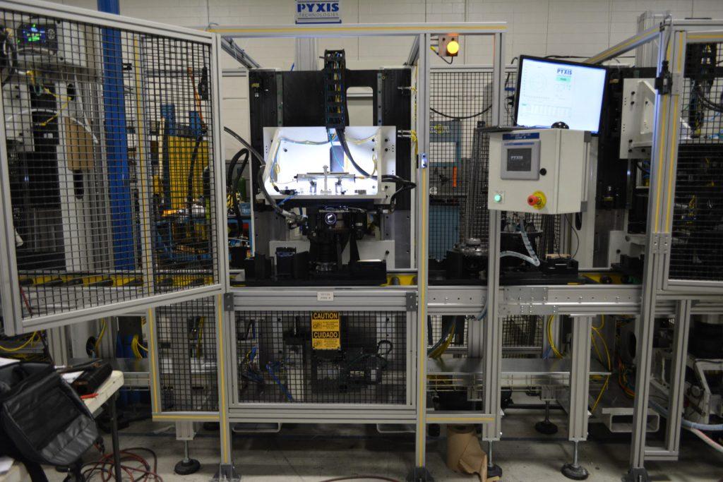 Pattern Check Machine
