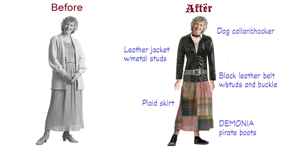 E-learning character makeover: