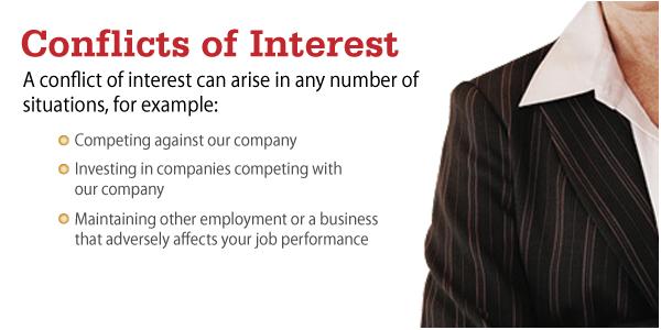 Slide makeover - conflicts of interest elearning