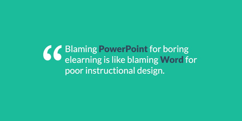 blaming-powerpoint-elearning-instructional-design