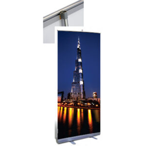 Rollup Economy Banner Stands
