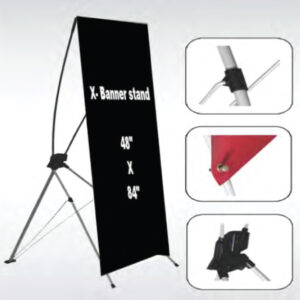 X-Frame Large Banner Stands