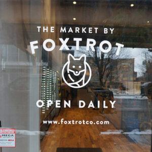 Foxtrot Window Graphics Close Up
