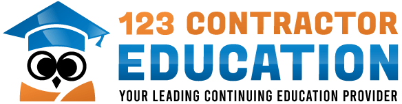123 Contractor Education logo