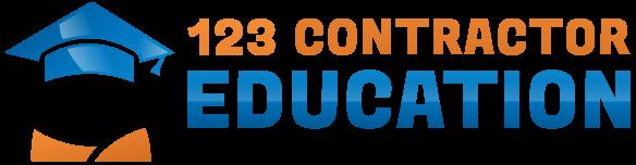 123 Contractor Education logo