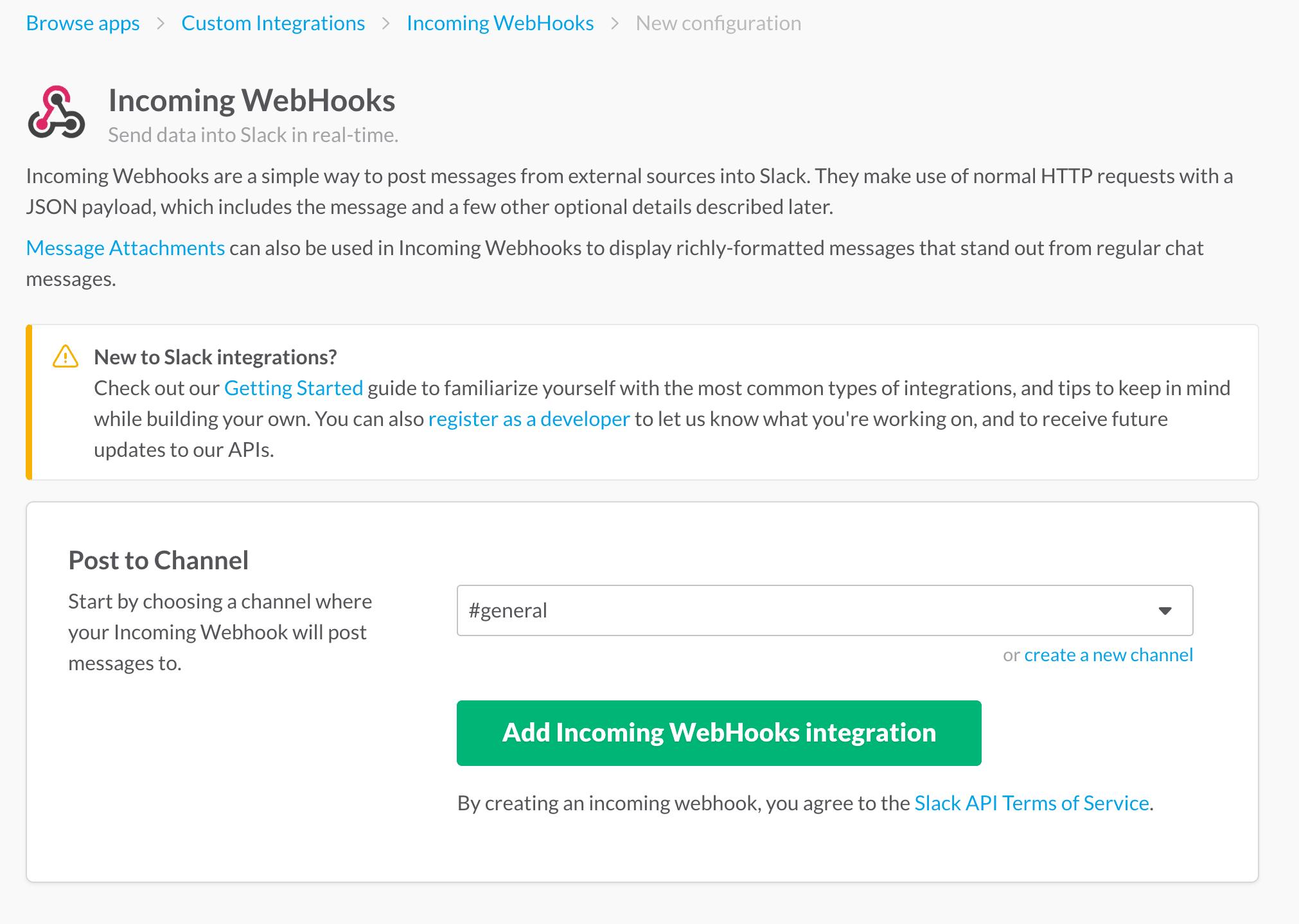 Add Slack Webhook