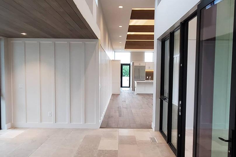 Emily Hughes Portfolio: Prairie Modern Entry Foyer