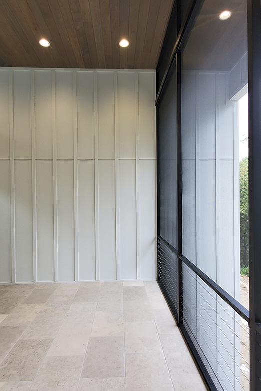 Emily Hughes Portfolio: Prairie Modern 3-Seasons Room