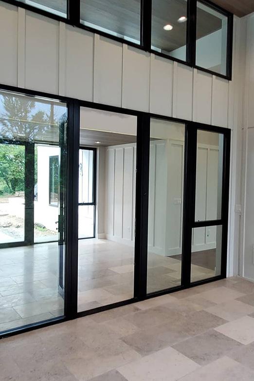 Emily Hughes Portfolio: Prairie Modern Front Door