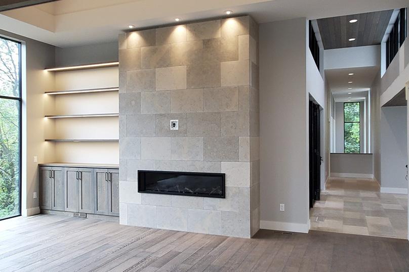 Emily Hughes Portfolio: Prairie Modern Living Room
