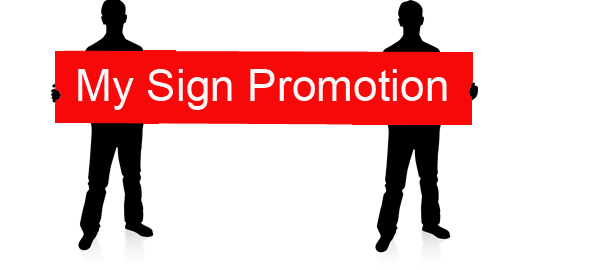 My Sign Promotion
