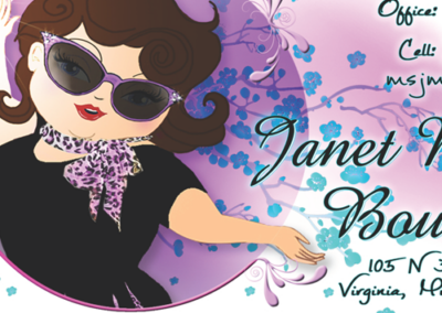 Janet Marie's Boutique – Business Cards