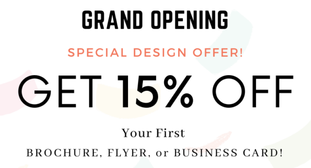 Grand Opening Design Special 1