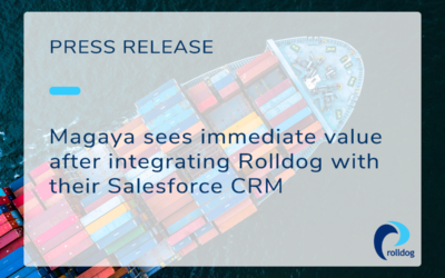 Magaya sees immediate value after integrating Rolldog with their Salesforce CRM