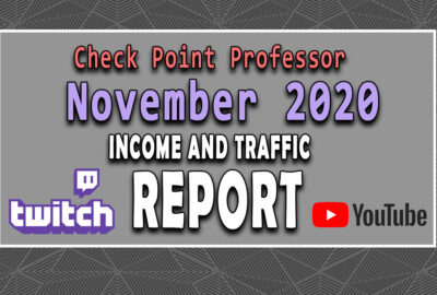 November 2020 Income Traffic Report