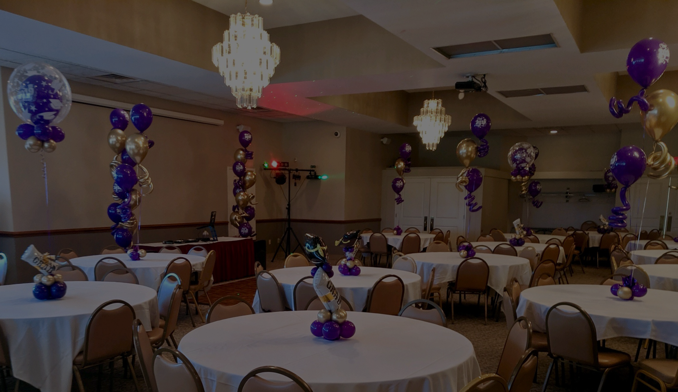 Kudos for the Banquet Room