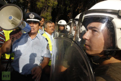 Blue On Blue: Greek Police Face Off With Riot Police In Athens (PHOTOS)