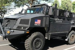 What Are The Military Police Planning On Doing With These Heavily Armored Vehicles?