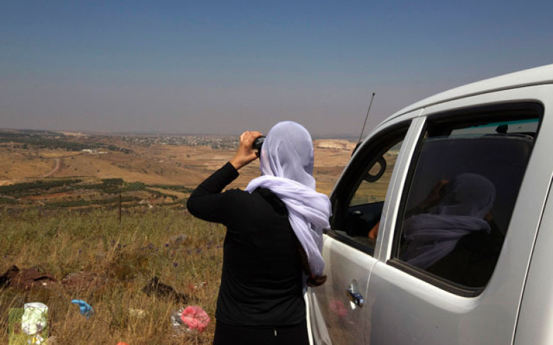 'A Dream Come True': Israelis Watch Syrians Battles From Across The Border