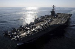 US Aircraft Carrier Stennis To Join Enterprise, Eisenhower Just Off Iran Coast