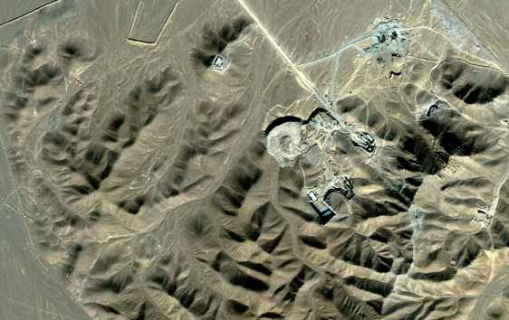 Alleged-Nuclear-Enrichment-Plant-In-Quom-Iran