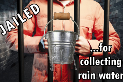 Oregon Man Jailed For Collecting Rainwater On His Own Property