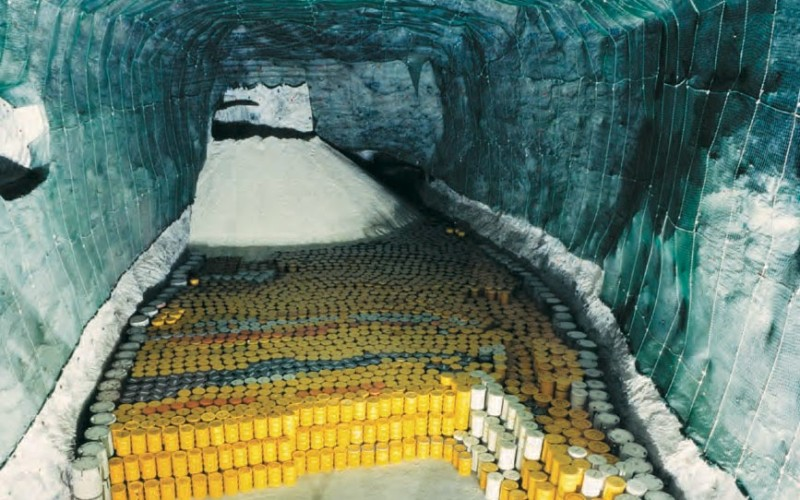 What Does 2,853 Containers Of Nuclear Waste Look Like On Paper?