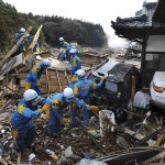 japan earthquake tsunami,japan tsunami history,Miss Japan before Takada City, rescue workers search for survivors in the ruins-774206