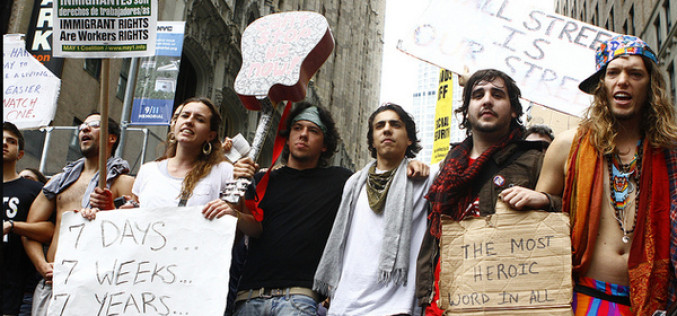 Flashback: 32 Pictures Of Police Brutality From Occupy Wall Street Protests