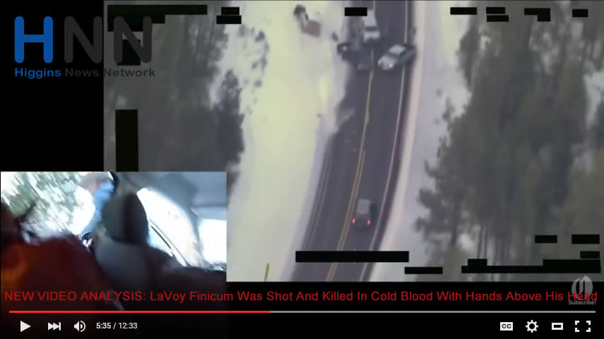 NEW VIDEO ANALYSIS LaVoy Finicum Was Shot And Killed In Cold Blood With Hands Above His Head