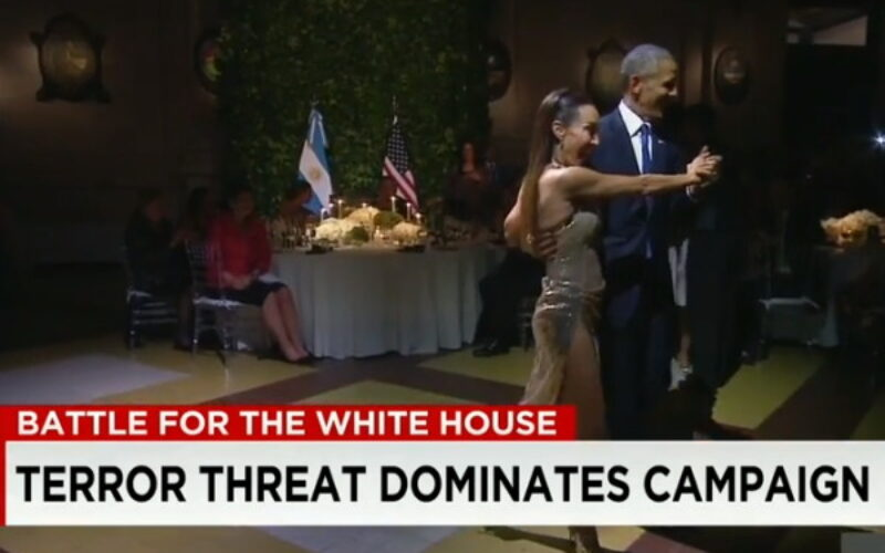 Video: President Barack Obama Dances The Tango in Argentina While Rest Of The World Goes To Sh*t