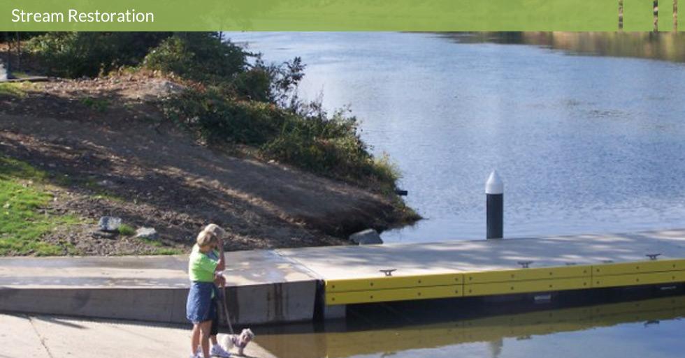 Melton Design Group restored the habitat at Riverbend Park in Oroville, CA. Dock restoration and river access are featured at Riverbend Park.