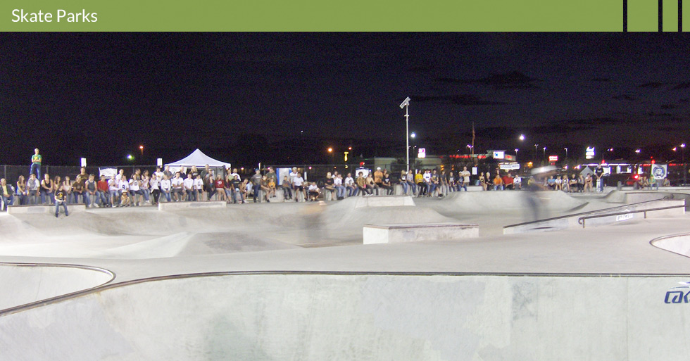 Melton Design Group, a landscape architecture firm, designed the Red Bluff Skate Park where the Red Bluff Skate Park Competition was held in Red Bluff, CA.