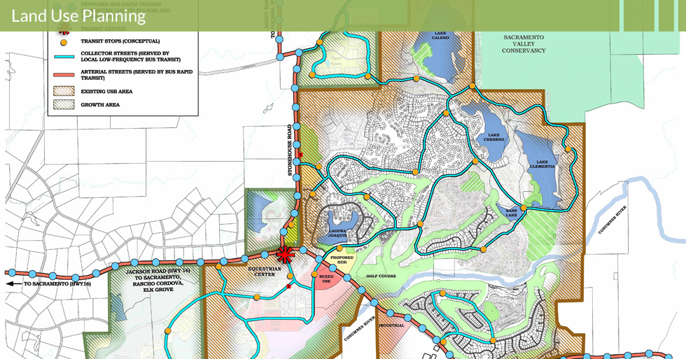 Melton Design Group, a landscape architecture firm, designed the Transportation and Commuter Traffic Study in Murieta West, CA.