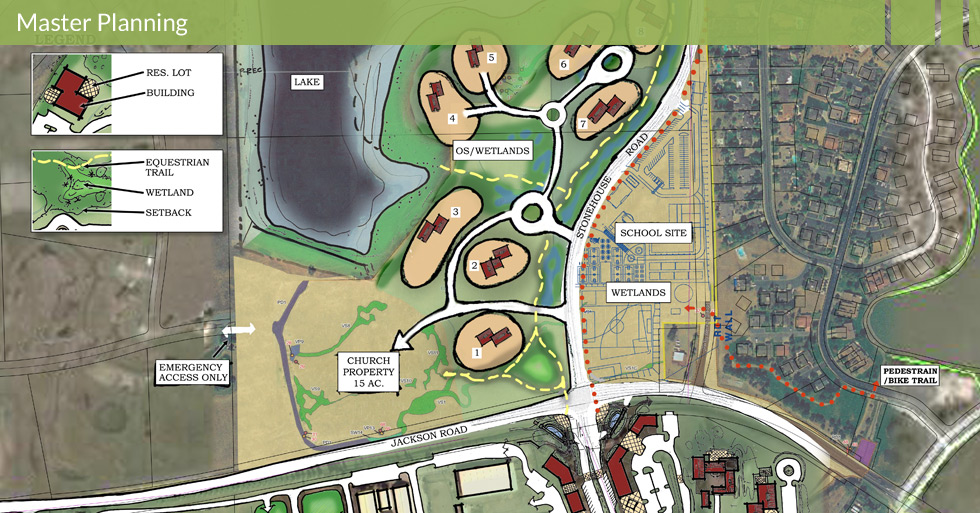 Melton Design Group, a landscape architecture firm, designed the Murieta West Planning Area in Rancho Murieta, CA.