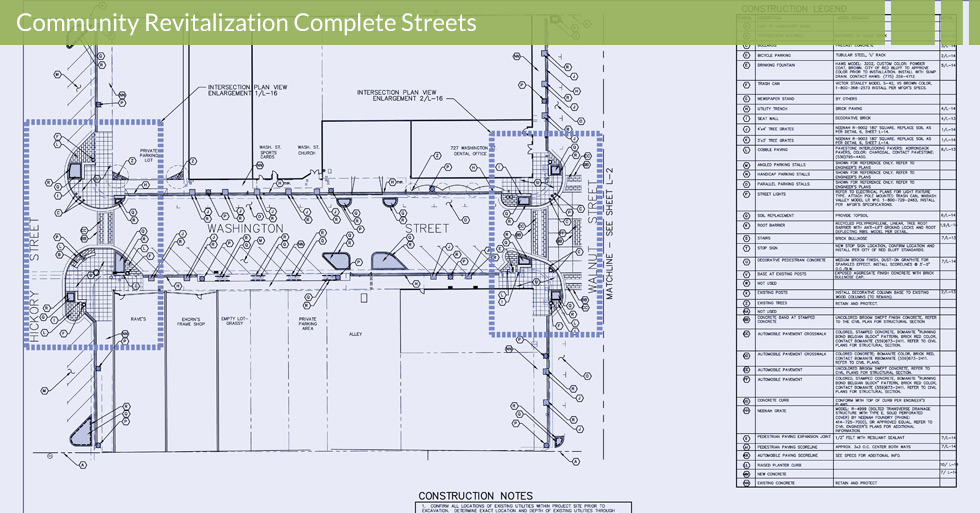 Melton Design Group, a landscape architecture firm, designed the Downtown Red Bluff Demonstration Plan in Red Bluff, CA.