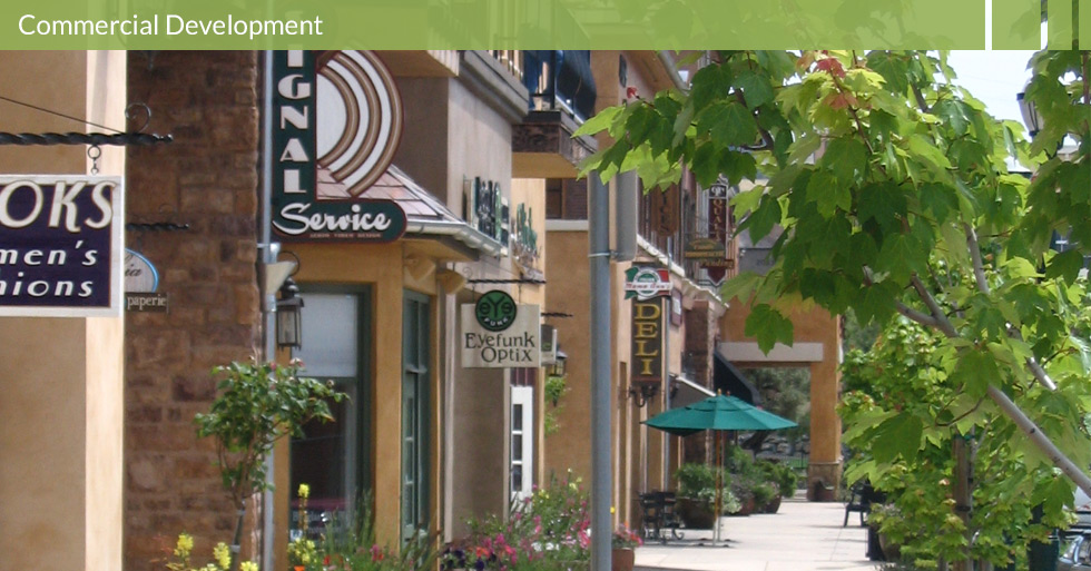 Melton Design Group, a landscape architecture firm, designed Town Center Blvd. in El Dorado, CA.