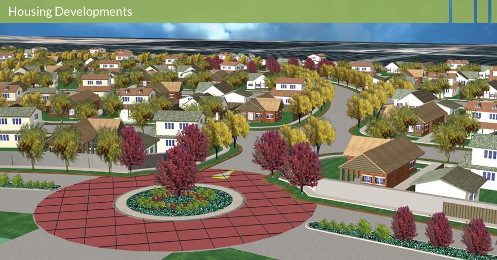 Melton Design Group, a landscape architecture firm, designed Orland Park Estates in Orland, CA.