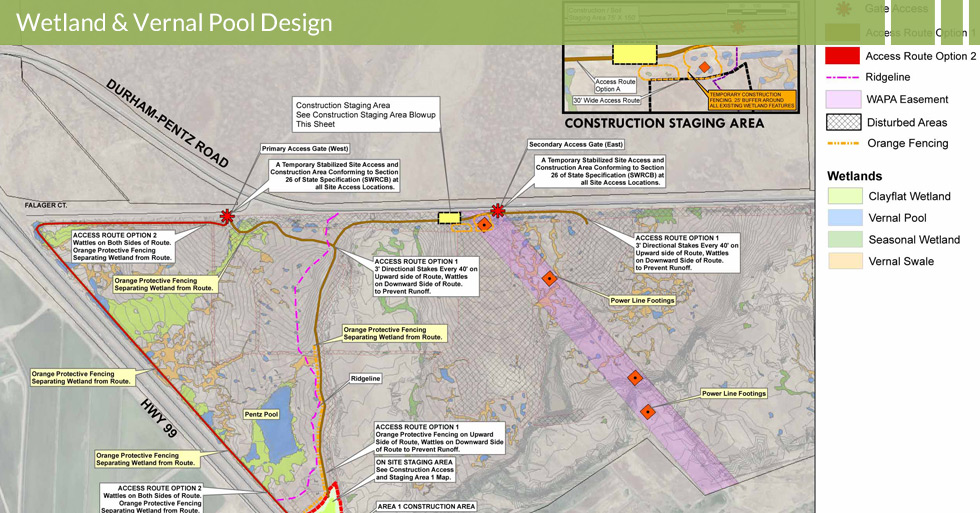 Melton Design Group, a landscape architecture firm, designed the Shauna Downs Wetland Inventory in Butte County, CA.