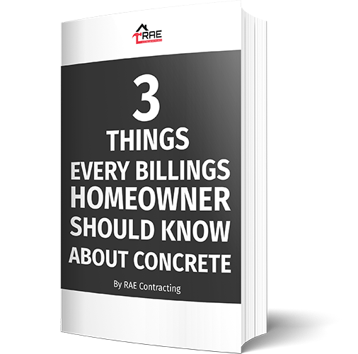 3 Things Ever Billings Homeowner Should Know About Concrete