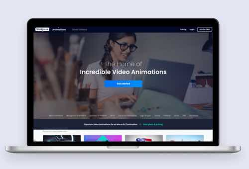 Viddyoze Animated video software