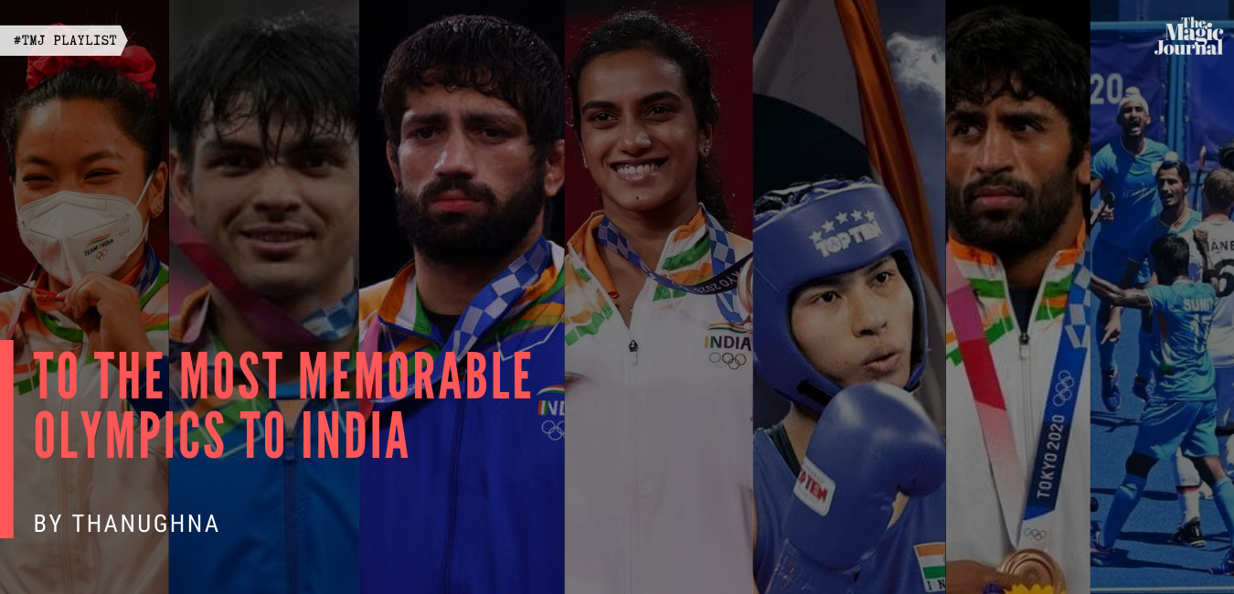 To The Most Memorable Olympics To India