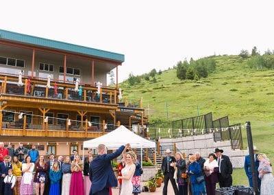 Brundage Mountain Resort Wedding
