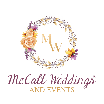 transparent McCall Weddings logo