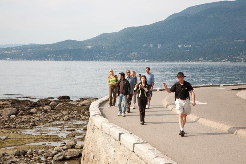 Tour - Stanley Park seawall walk