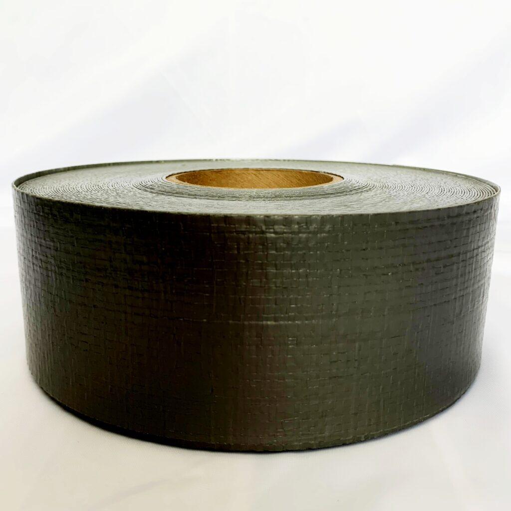 "3"" X 100' Heavy Duty Polyethylene Tarp Repair Tape (Black)"