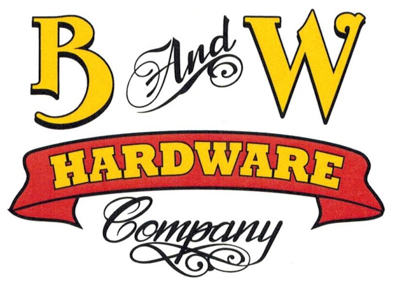 B & W Logo